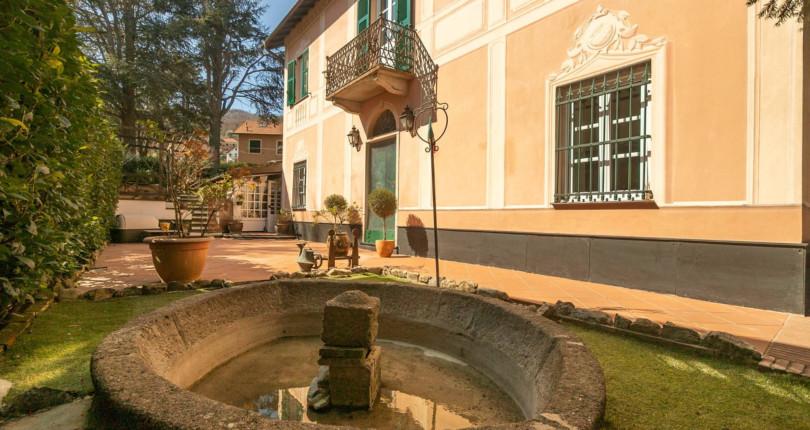 Incantevole villa a Savignone
